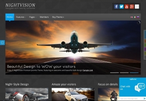IT NightVision – адаптивный шаблон для Joomla