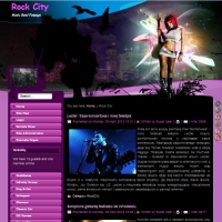 Rock City Joomla шаблон от Diablo Design