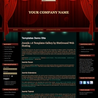 Theater Joomla шаблон от Site Ground