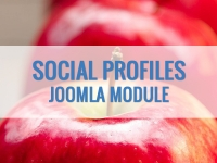 Social Media Profile Icons – кнопки социальных сетей Joomla