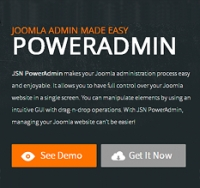 JSN PowerAdmin – новая универсальная «админка»!