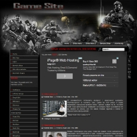 Games Site Joomla шаблон от Diablo Design