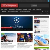 Tyneo Joomla шаблон от Beautiful Templates