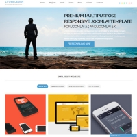 Web Design Joomla шаблон от LTheme