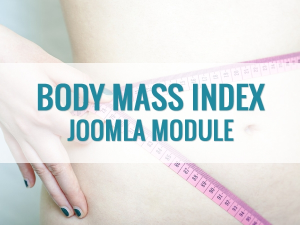 Body Mass Index Calculator – модуль Joomla калькулятор для индекса массы тела